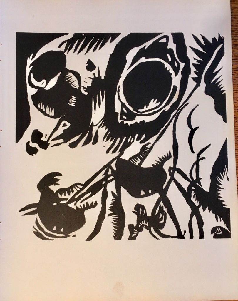 Wassily Kandinsky - Motif aus Improvisation 25-Garden of Love
